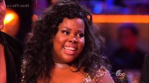 Amber Riley & Derek - Samba - DWTS 17 (Week 6)