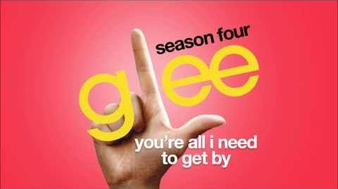 You're All I Need To Get By Glee HD FULL STUDIO