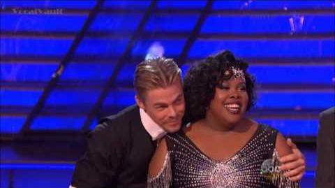 Amber Riley & Derek - Charleston - DWTS 17 (Hollywood Week)
