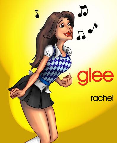 File:Glee rachel berry sings by pootpoot1999.jpg
