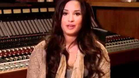 Demi Lovato on Glee*
