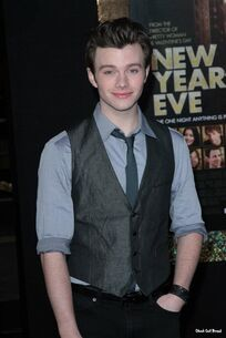 Chris colfer at new years eve preview2