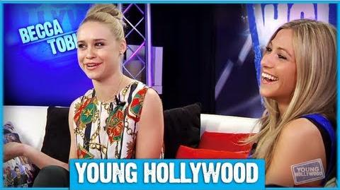 GLEE Star Becca Tobin on Playing The Mean Girl