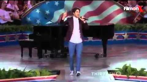 "Darren Criss - ""Shout"" Live at ""A Capitol Fourth"""