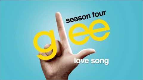 Love Song - Glee HD Full Studio