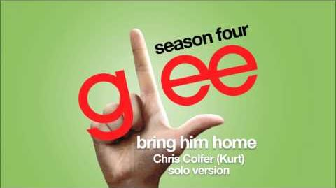 Bring Him Home (Kurt Solo Version) Glee HD FULL STUDIO