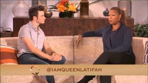 Mjsbigblog.com Chris Colfer - Queen Latifa - 10 28 2013