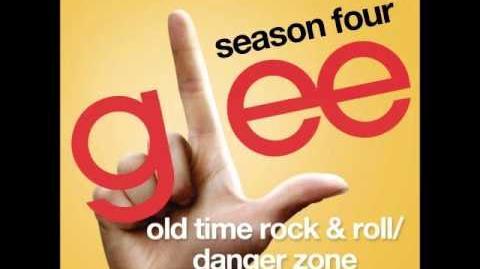 Glee - Old Time Rock & Roll Danger Zone (DOWNLOAD MP3 LYRICS)