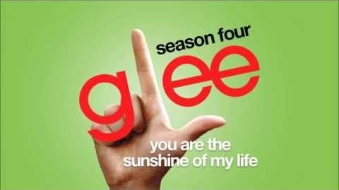 You Are The Sunshine Of My Life Glee HD FULL STUDIO