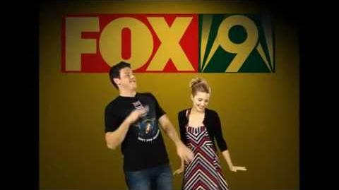 Dianna Agron and Cory Monteith Adorable Dancing