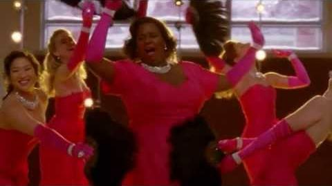 GLEE - Diamonds Are A Girl's Best Friend Material Girl (Full Performance) (Official Music Video) HD