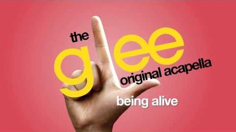 Glee - Being Alive - Acapella Version