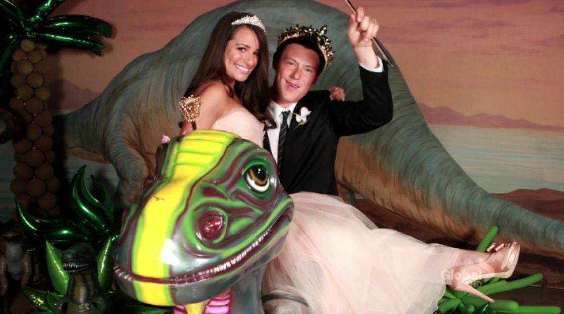 Image Rachel And Finn Prom King Quenn Jpg Glee Tv Show Wiki Fandom Ed By Wikia