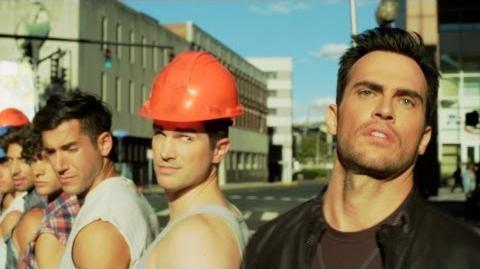 Video - Cheyenne Jackson - DONT WANNA KNOW Official Music