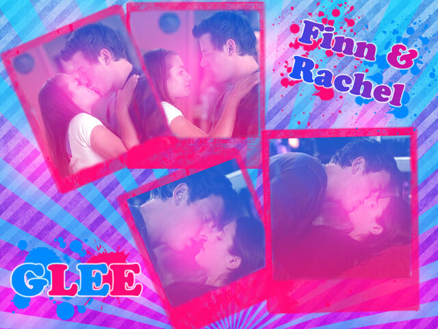 File:Glee Finn and Rachel Wallpaper by xmari3ex.jpg