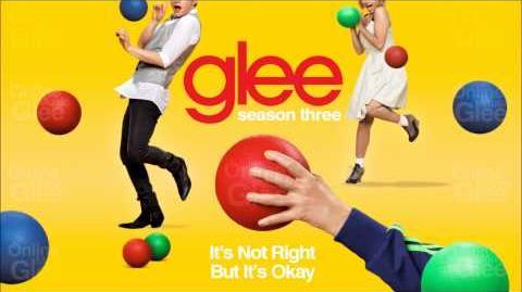 It's Not Right But It's Okay - Glee HD Full Studio