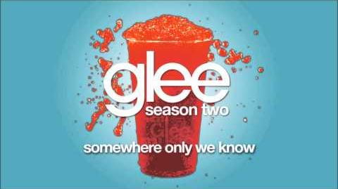 Somewhere Only We Know Glee HD FULL STUDIO