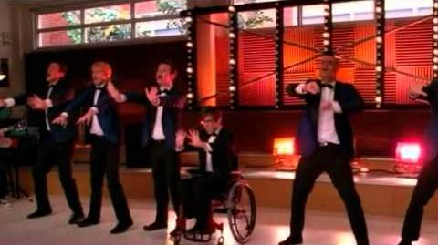 GLEE - Stop! In The Name Of Love Free Your Mind (Full Performance) (Official Music Video) HD