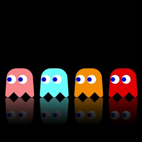 File:Pac Man Widescreen by molotov arts.jpeg