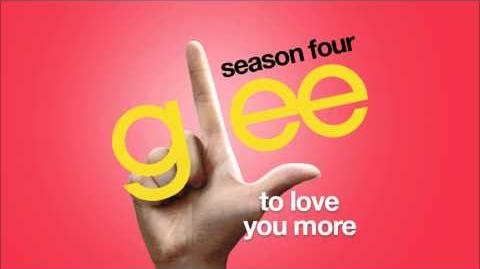 To Love You More Glee HD FULL STUDIO