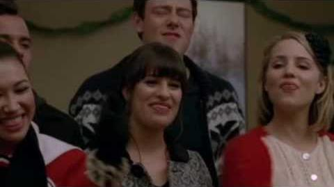 Glee-Do They Know It's Christmas? (Full Performance)