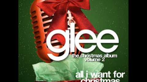 Glee - All I Want For Christmas Is You (Acapella)