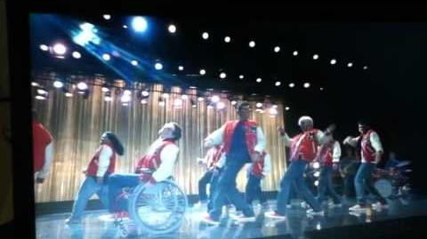 Glee- SHES NOT THERE