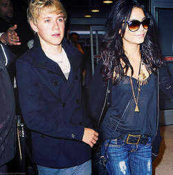 Niall Horan and Vanessa Hudgens