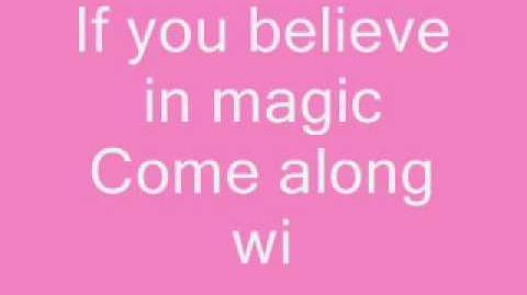 Aly & aj - do you believe in magic lyrics