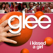 Glee - kissed a girl2