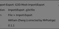 G3D support