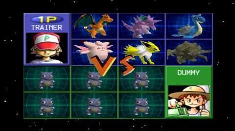 New Pokemon Stadium Glitch? No NPC Pokemon