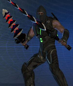 Flair - Black Ninja Mask