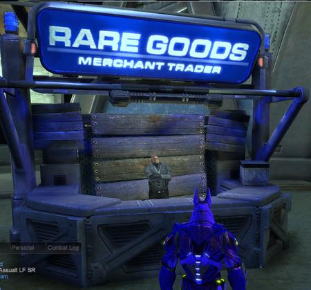 Rare goods vendor