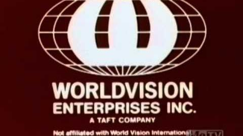 Worldvision Enterprises logo (1981)