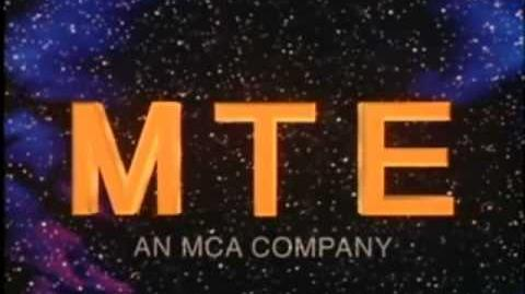 "MTE Television Logo (1991) ""Ghost Globe"""