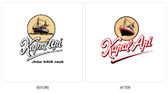 Kapal Api Logo History