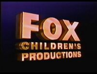 Fox Children's Productions 1991 b