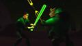 Hal fights Kilowog.png