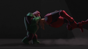 Skallox versus Kilowog