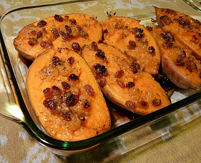 File:Candied Sweet Potatoes with Apples and Raisins.JPG
