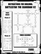 Battlestar The Guardian V2 Instructions