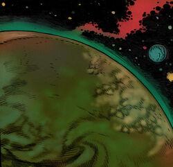 Volkria planet comic