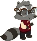 Lg Mr Raccoon