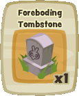Inv Foreboding Tombstone
