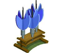 Blue Yard Darts (200)