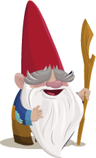 Wise Old Gnome Large