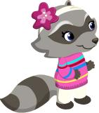Lg Mrs Raccoon