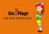Six Flags Promotional Ad