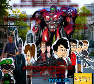 Awesomeadriehl the Movie Poster!!!!!!